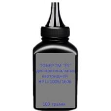 """Тонер HP LJ P1560/1566/1600/1606/1530 /1005/1006/1102/1505/M1522 подходит к оригинальным корпусам HP/Canon, мега качество, TM """"ES"""", 100 грамм"""